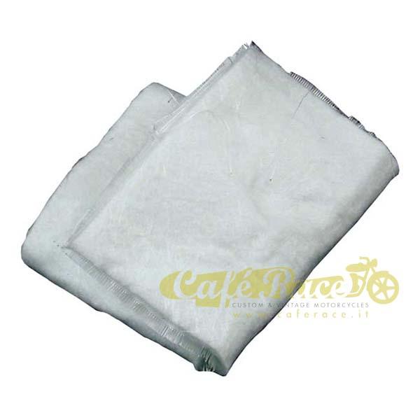 Materiale fonoassorbente V&H per silenziatori (lana vetro) – 31 X 52cm