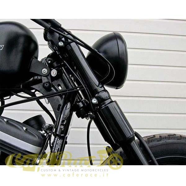 Nightster e Seventy Two Copri Forcelle Straight nero lucido Per XL 883//1200 Iron