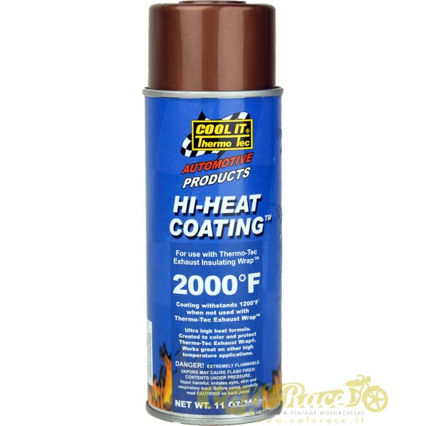 Sigillante fascia scarichi Coating Hi-Heat – Thermo-Tec colore rame