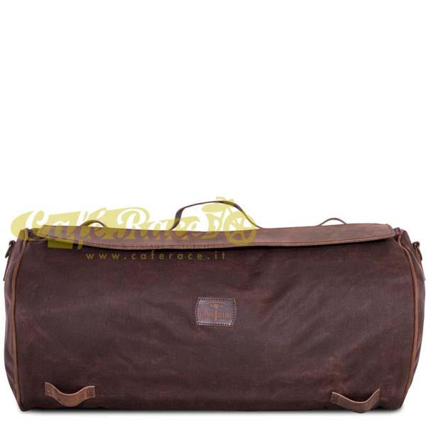 Borsone posteriore LONGRIDE ROLLER BAG BROWN 32,5 lt