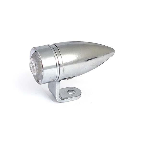 Faro Mono II LED cromato Omologato