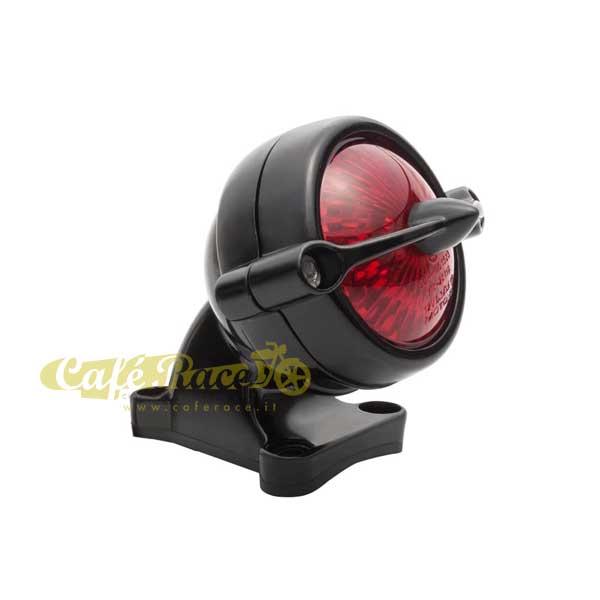 Fanalino a LED BEL AIR BLACK Omologato completo di supporto