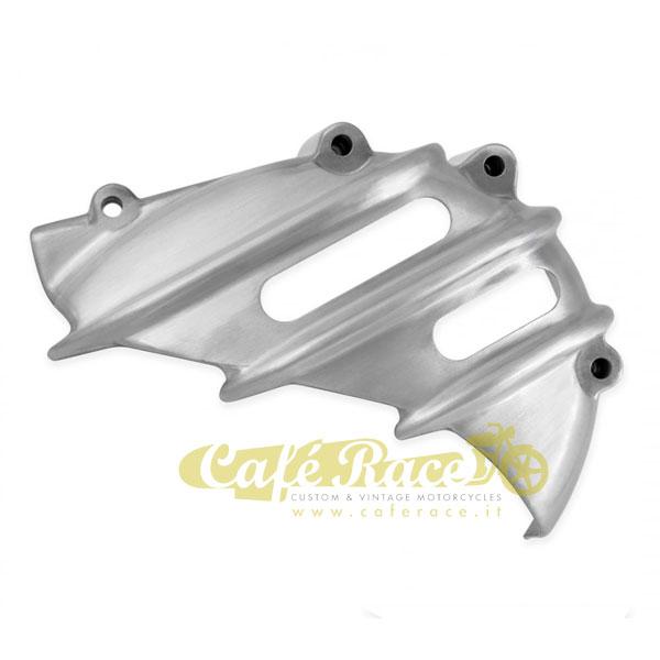 balikha Coperchio Pignone in Alluminio Copricatena per Triumph Scrambler Speedmaster Argento