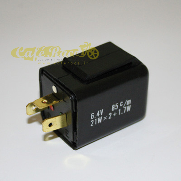 Relay intermittenza 6 Volt 21 Watt 3 poli