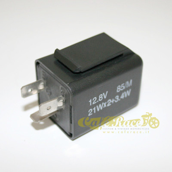 Relay intermittenza 12 Volt 21 Watt 3 poli