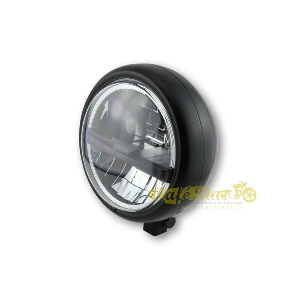 Faro anteriore HIGHSIDER PECOS LED nero attacco basso Omologato