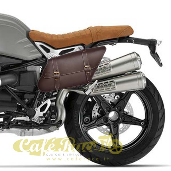 Borsa laterale SPAAN sinistra marrone BMW R NINE T