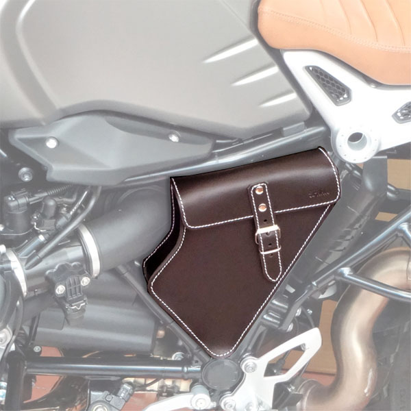Borsello SPAAN porta documenti / attrezzi BMW R NINE T marrone
