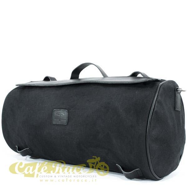 Borsone posteriore LONGRIDE ROLLER BAG BLACK 32,5 lt