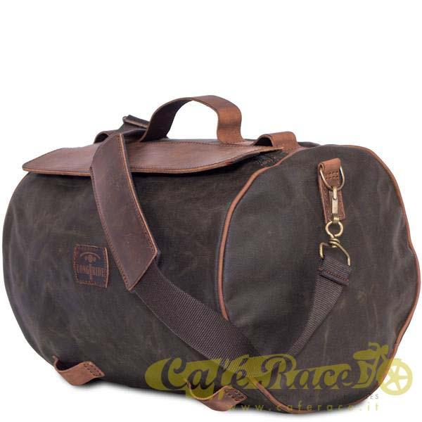 Borsone posteriore LONGRIDE ROLLER BAG KHAKI 17,2 lt