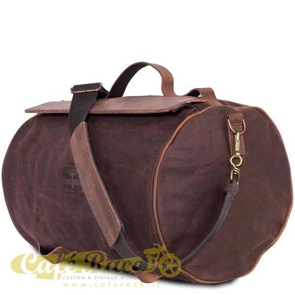 Borsone posteriore LONGRIDE ROLLER BAG BROWN 17,2 lt