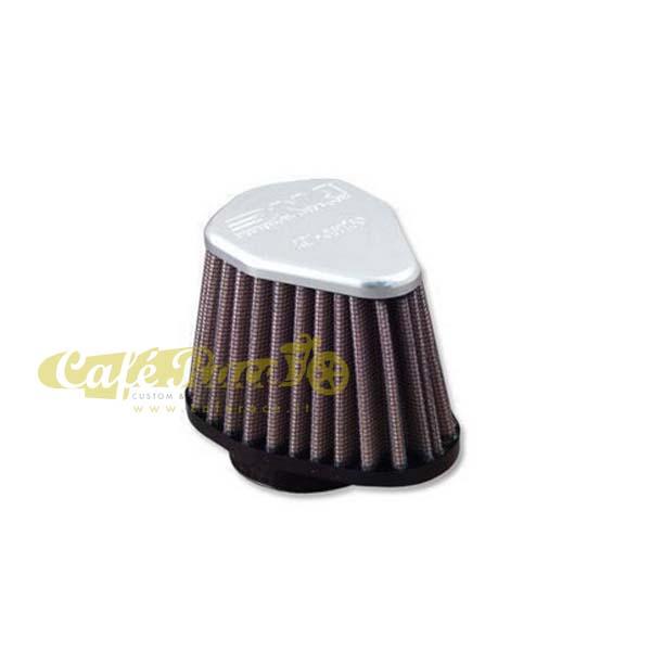 Filtro aria DNA Ø38mm conico esagonale con top in alluminio
