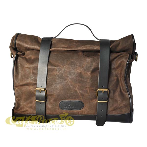 Borsa VINTAGE BROWN 19/24 lt. con KLICK FIX