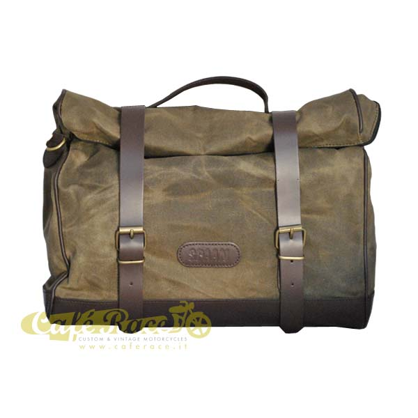 Borsa MILITARY GREEN 19/24 lt. con KLICK FIX