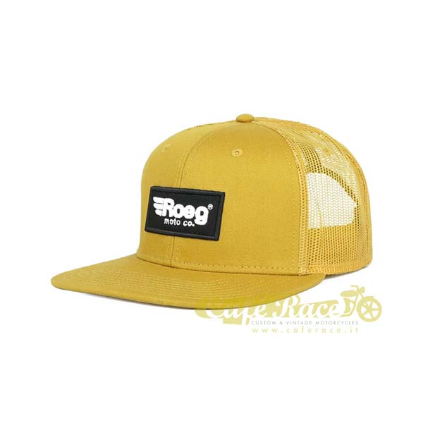 Cappello ROEG Blake flat panel cap yellow