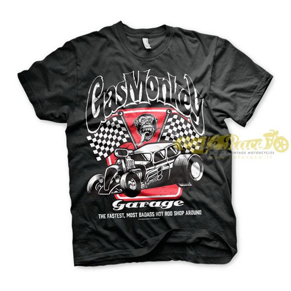 GAS MONKEY GARAGE T-SHIRT BAD ASS