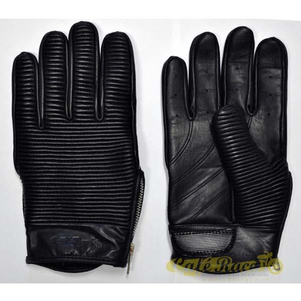Guanti CAFE RACE® SHELBY BLACK