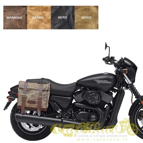 Kit borsa grande + telaio DX HARLEY DAVIDSON Street 500 - 750