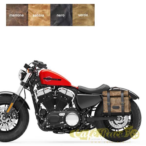 Kit borsa piccola SX + telaio Harley Davidson Sportster