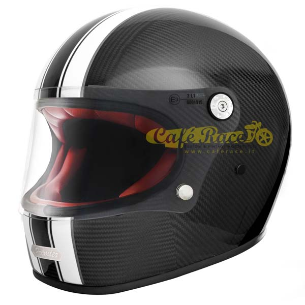 Casco integrale Premier TROPHY Carbon T0 in fibra di carbonio