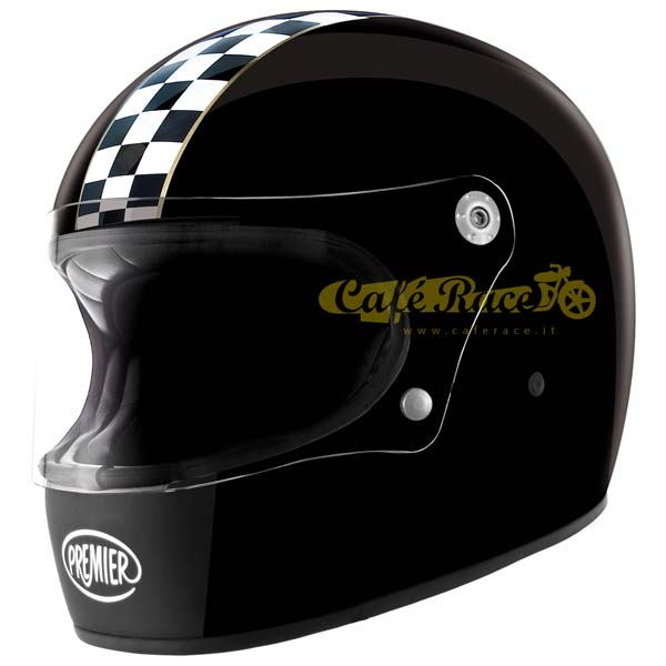 Casco integrale Premier TROPHY CK Black in fibra
