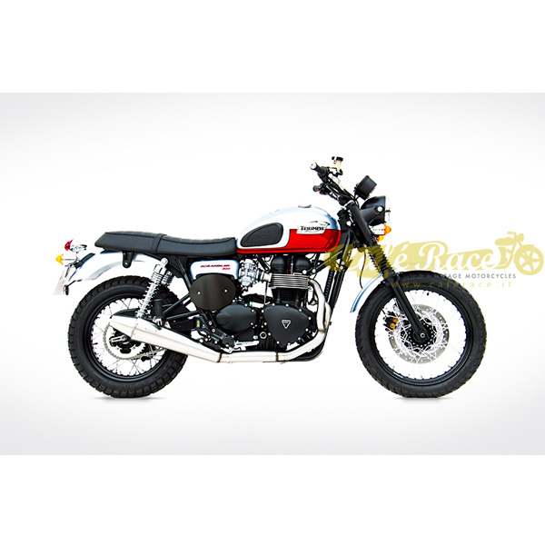 Exhaust Zard For Triumph Scrambler Bonneville And Thruxton With