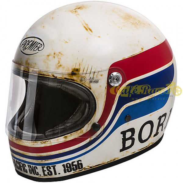 Casco integrale Premier TROPHY BTR 8 BM in fibra