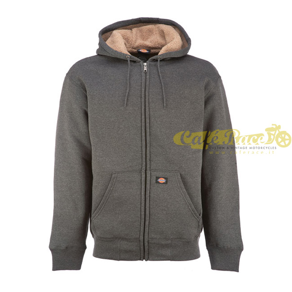 Giacca DICKIES SHERPA DARK HEATHER foderata in pile tg. M