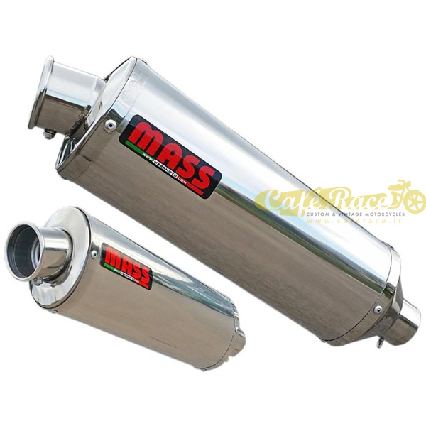 Pair Of Terminals Mass Oval Steel For Ducati Monster 600750900