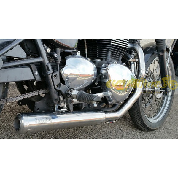 Complete exhaust system with kit 2in1 MASS