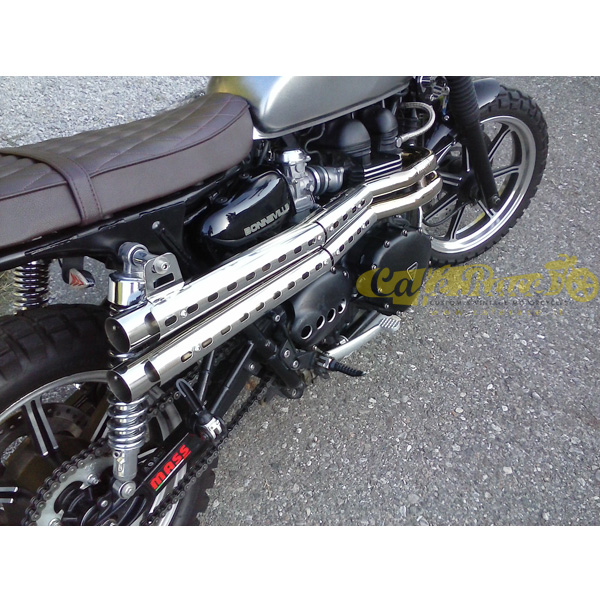 Complete exhaust system with kit 2in2 MASS