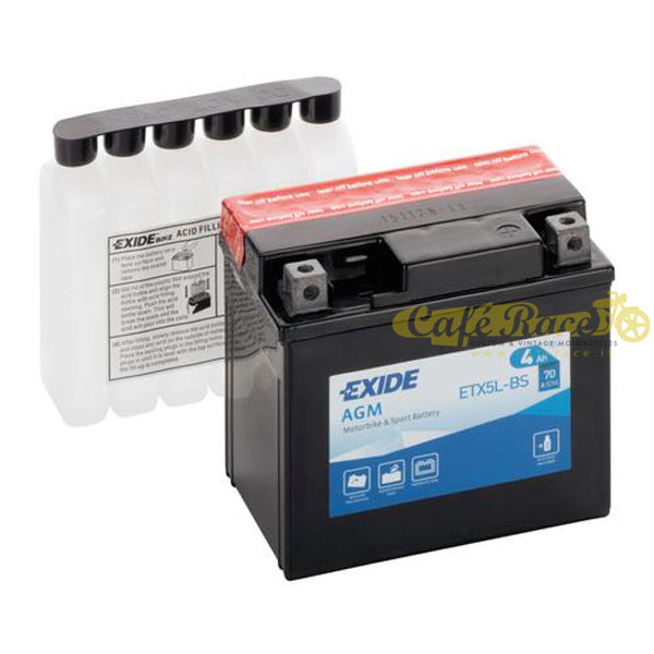 Batteria Exide Bike AGM 12V-70A 115 x 70 x 105 mm
