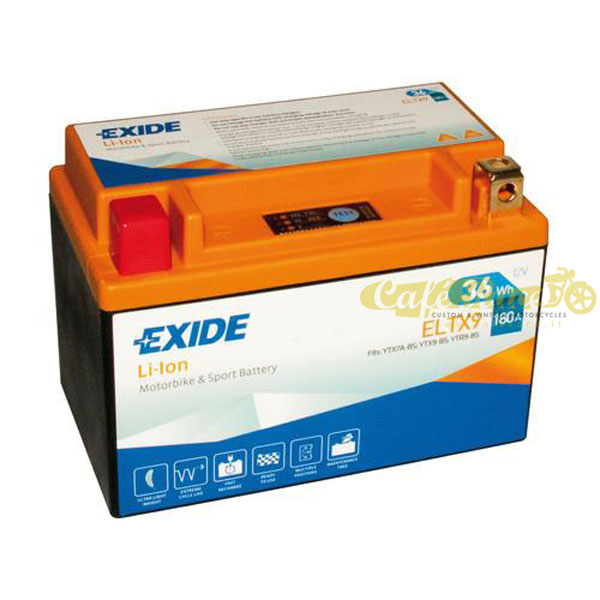 Batteria Exide Bike Li-Ion 12V-180A 150 x 87 x 105 mm