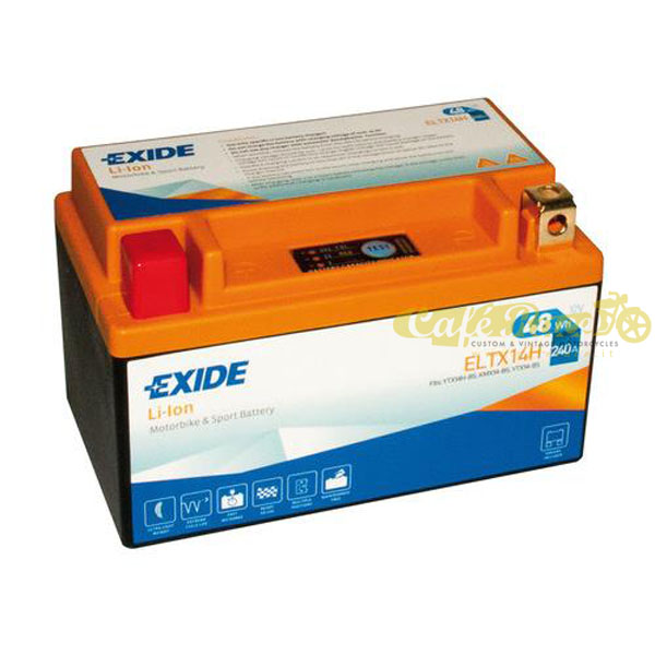 Batteria Exide Bike Li-Ion 12V-240A 150 x 87 x 93 mm