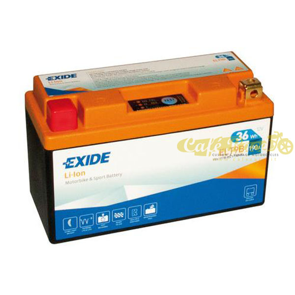 Batteria Exide Bike Li-Ion 12V-190A 150 x 65 x 92 mm