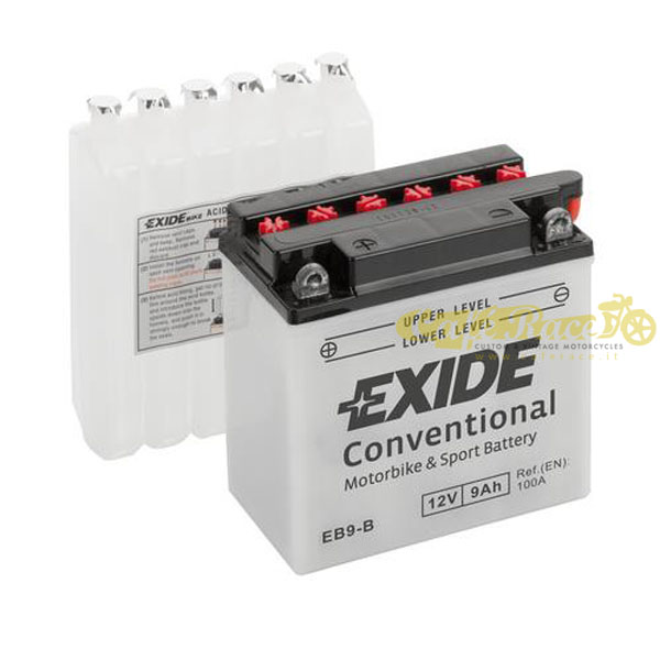 Batteria Exide Bike Conventional 12V-100A 135 x 75 x 140 mm