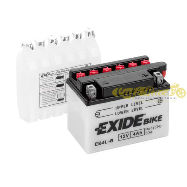 Batteria Exide Bike Conventional 12V-50A 120 x 70 x 95 mm