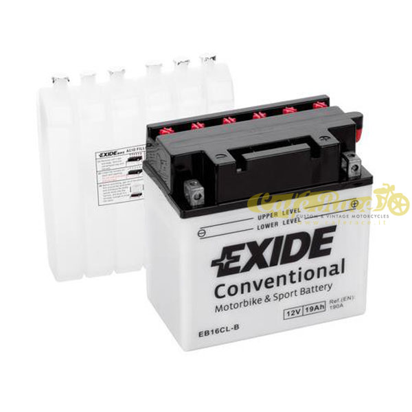 Batteria Exide Bike Conventional 12V-190A 175 x 100 x 155 mm