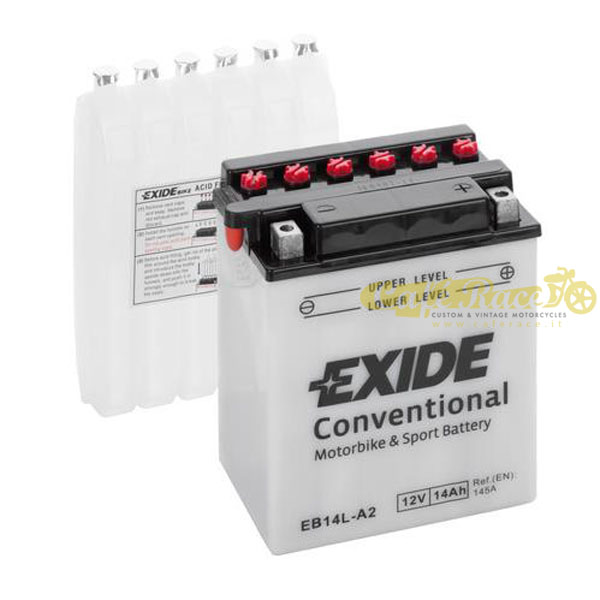 Batteria Exide Bike Conventional 12V-145A 135 x 90 x 165 mm
