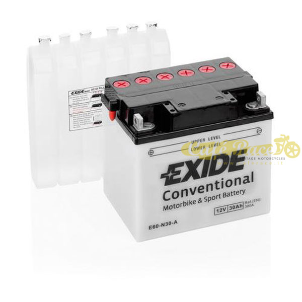 Batteria Exide Bike Conventional 12V-300A 185 x 130 x 170 mm