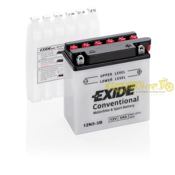 Batteria Exide Bike Conventional 12V-40A 120 x 60 x 130 mm