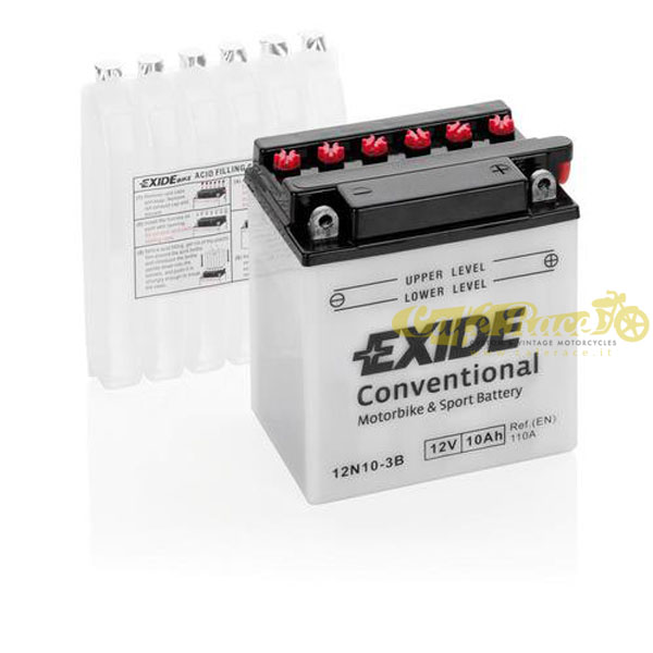 Batteria Exide Bike Conventional 12V-110A 135 x 90 x 145 mm