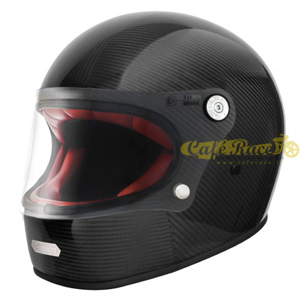Casco integrale Premier TROPHY CARBON in fibra