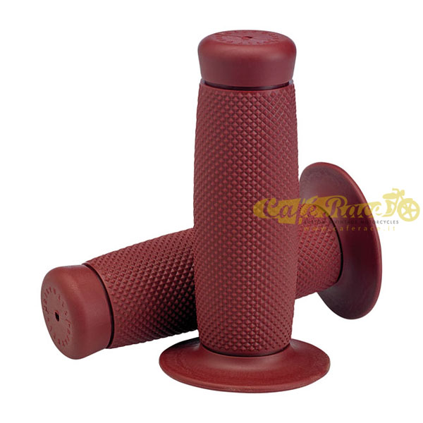 "Manopole BILTWELL TPV RENEGADE OXBLOOD Ø 7/8"" - 22mm"