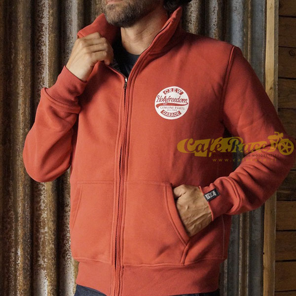 Felpa Holy Freedom GENUINE - Fullzip