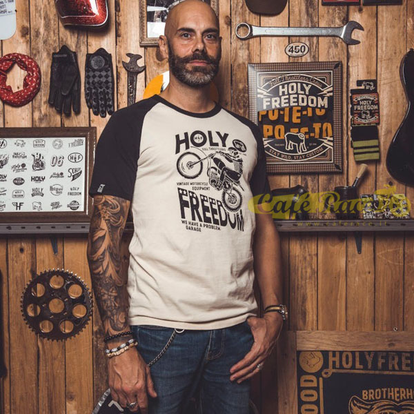T-shirt Holy Freedom CROSS