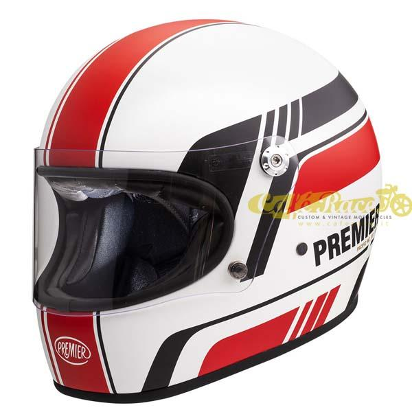 Casco integrale Premier TROPHY BL 8 BM in fibra