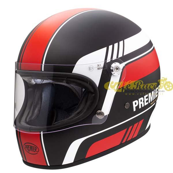Casco integrale Premier TROPHY BL 92 BM in fibra