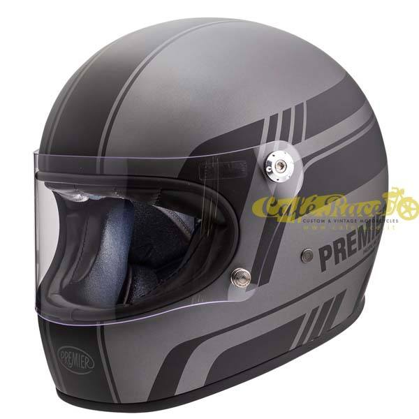 Casco integrale Premier TROPHY BL 17 BM in fibra