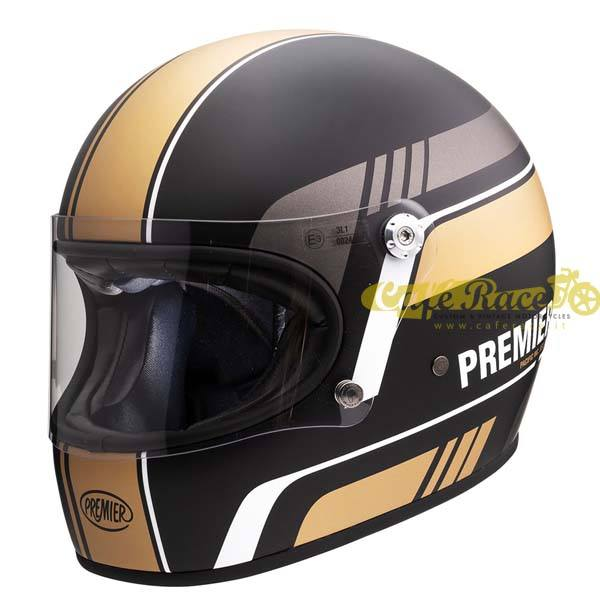Casco integrale Premier TROPHY BL 19 BM in fibra